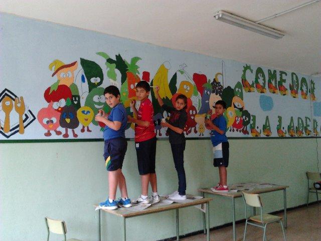 Mural comedor for Dibujo de comedor escolar